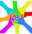 diversity concept design eps10 vector image