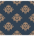 Floral retro seamless pattern vector image vector image