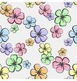 FlowersBackground4 vector image vector image