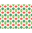 Seamless Abstract Christmas Pattern with Stylized vector image