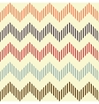 Seamless geometric wavy pattern vector image vector image