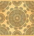 seamless pattern with ethnic elements and vector image vector image