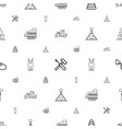 build icons pattern seamless white background vector image vector image