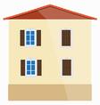 Italian house vector image