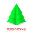 MERRY CHRISTMAS Corner paper 18 vector image vector image