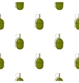 Military grenade icon in cartoon style isolated on vector image