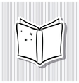 Open book and literature design vector image vector image