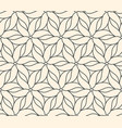 seamless flower pattern on beige background vector image vector image