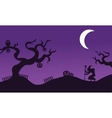 Set of Halloween withc banners vector image