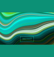 azure marbled texture vector image vector image