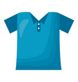 blue t shirt wear vector image