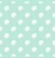 green and white polka dot seamless pattern vector image vector image