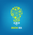 innovation creative idea concept vector image