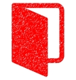 Open Door Grainy Texture Icon vector image vector image