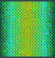 pattern-snake-blue vector image