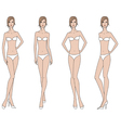 Woman fashion figure vector image vector image