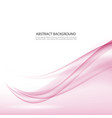 abstract pink waves background vector image vector image