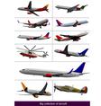 al 0928 aircraft vector image vector image