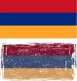 armenian grunge flag