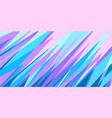 blue pink abstract background eighties style 80s vector image