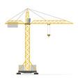building crane 01 vector image vector image