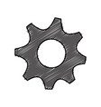 gear wheels icon vector image vector image