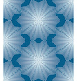 Ornate colorful abstract background with white vector image vector image