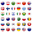 World Flags Icon Set vector image vector image