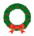wreath 2 vector image vector image