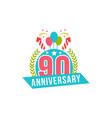 anniversary ninety years number