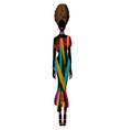 african woman dress afro womens ankara clothing vector image vector image