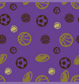 ball pattern seamless vector image