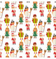 christmas carnival costume kids vector image vector image