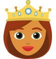 Face queen cartoon