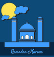 ramadan kareem design vector image vector image