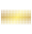 searchlight golden halftone matrix vector image