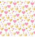 valentines day seamless modern luxury pattern vector image vector image