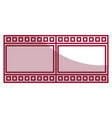 tape film record isolated icon vector image
