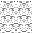 abstract sketched scales seamless pattern vector image vector image