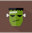 frankenstein icon set of great flat icons design vector image