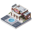 Isometric casino building vector | Price: 3 Credits (USD $3)