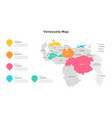 map infographic vector image