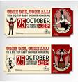 Vintage Circus Ticket vector image vector image
