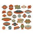 Vintage and retro design elements vector image