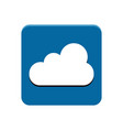 cloud app button vector image