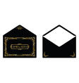 gatsby envelope vector image vector image