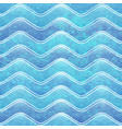 grunge wave pattern vector image
