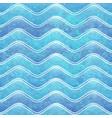 grunge wave pattern vector image vector image