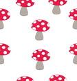Mushrooms resize vector image