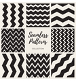 Seamless Black And White Pattern Collection